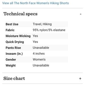 The North Face Shorts - The North Face Aphrodite 2.0 Shorts - Women's